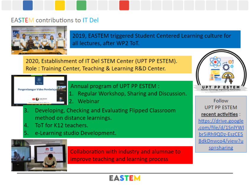 EASTEM contribution to IT Del
